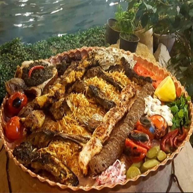 منو رستوران باغ رستوران مهرآفرین